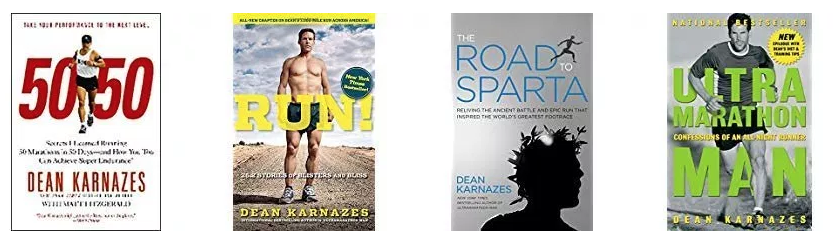 Dean Karnazes Four Books